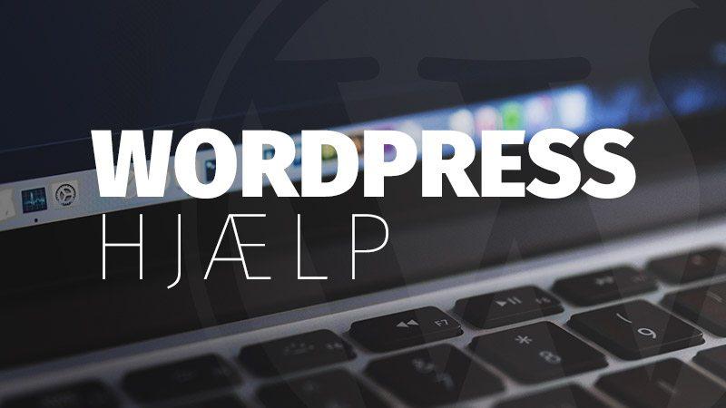 wordpress-hjælp