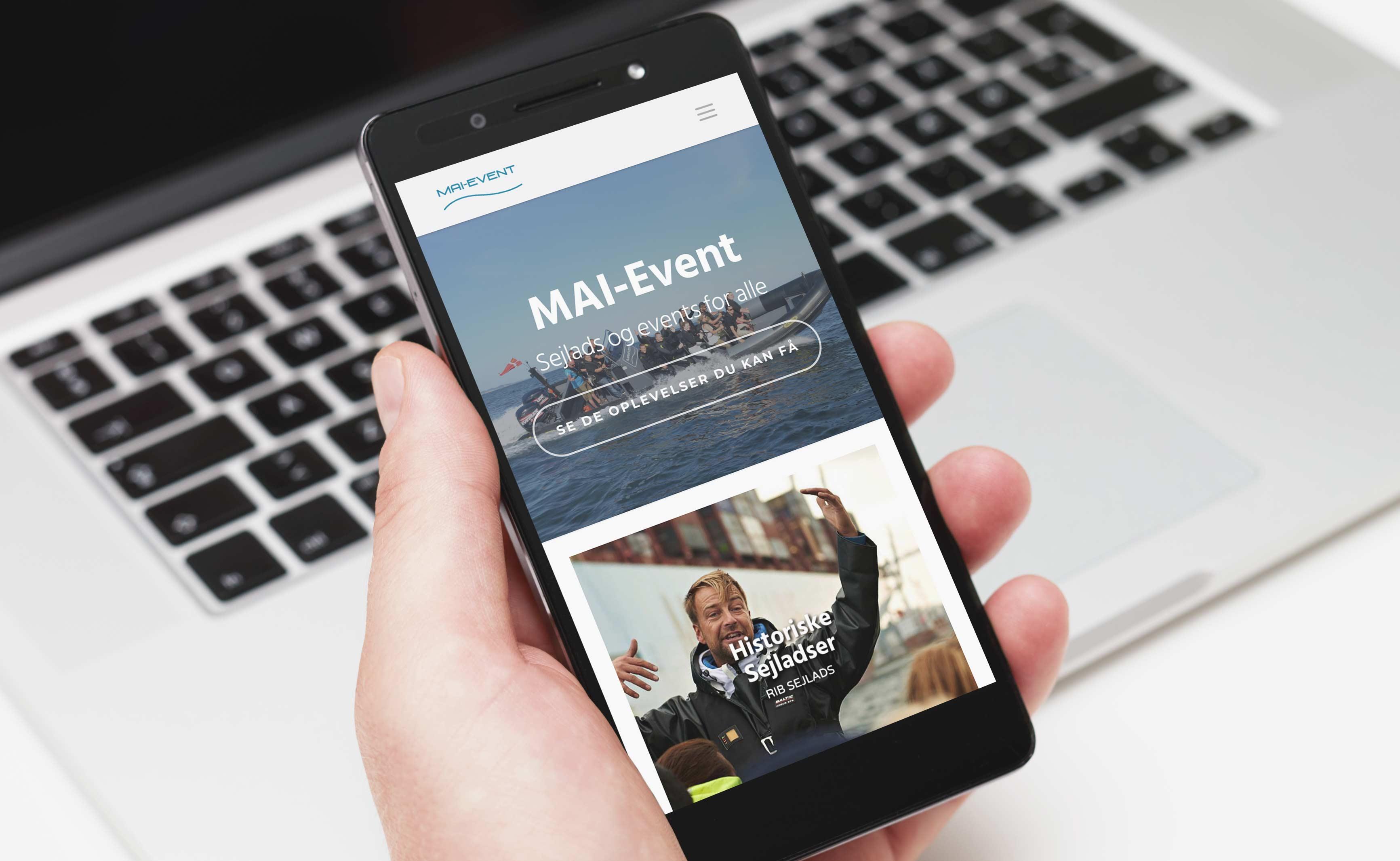 Case: Mai-Event fixed billede mobiltelefon